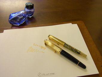 雰囲気のあるペンということ