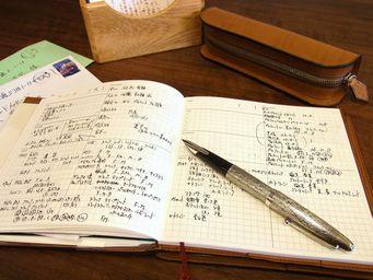 パイロットシルバーン、手帳用の万年筆