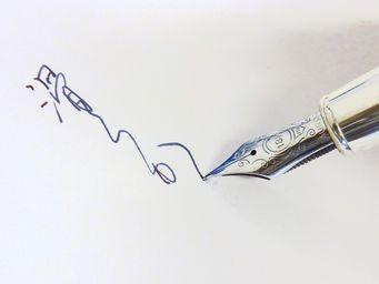 万年筆の書き味・1