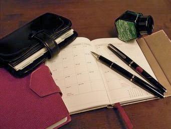 手帳用の万年筆を選ぶ