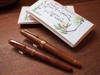 パイロットの2つの木の万年筆