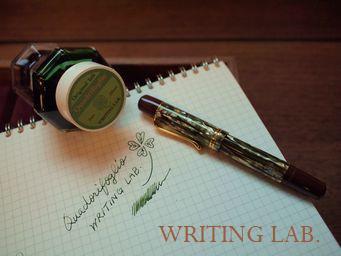 WRITING LAB.オリジナルインク Quadorifoglio(クワドリフォリオ)