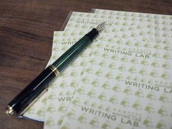 WRITING LAB.オリジナル吸取紙発売