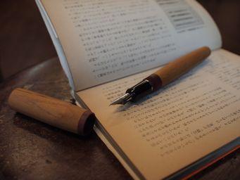 万年筆を真・行・草で考える