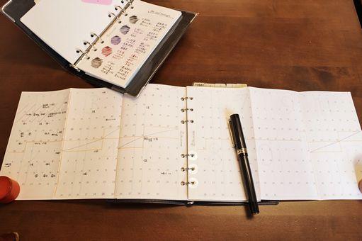 大人の手帳リフィル 筆文葉リフィルの紙質