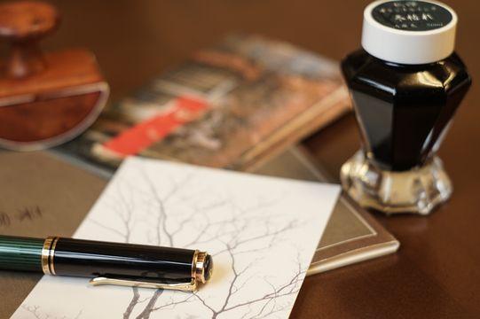 手紙を書く道具