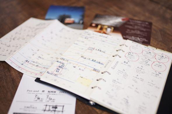 システム手帳リフィル「筆文葉」のある私の生活