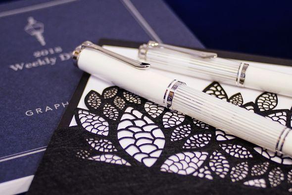 ペリカンM605ホワイトストライプ発売