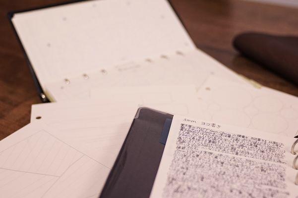筆文葉吹き寄せパック~風物のデザイン~新発売