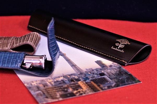 東京出張のために作ったペンケース2品
